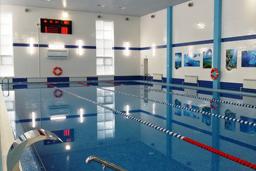 Спортивный бетонный бассейн