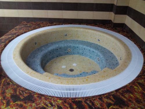 Бетонный спа-бассейн