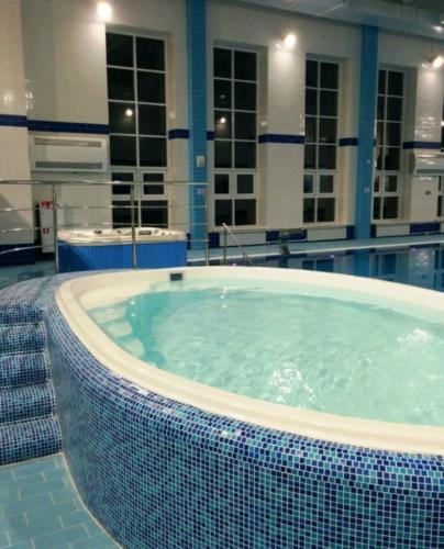 Детский композитный бассейн в санатории-профилактории Лениногорский