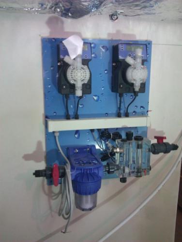 Станция анализа воды и дозации хим реагентов